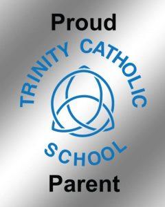 Trinity Parent Sticker